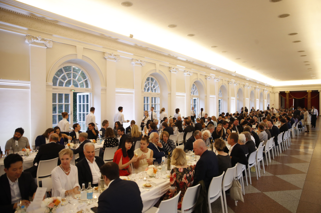 Dinner at Orangerie Charlottenburg Palace