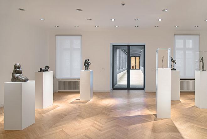 Museum Berggruen interior, Photo: HC Krass