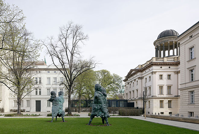 Museum Berggruen Sculpture Garden. Photo: Ullrich Schwarz