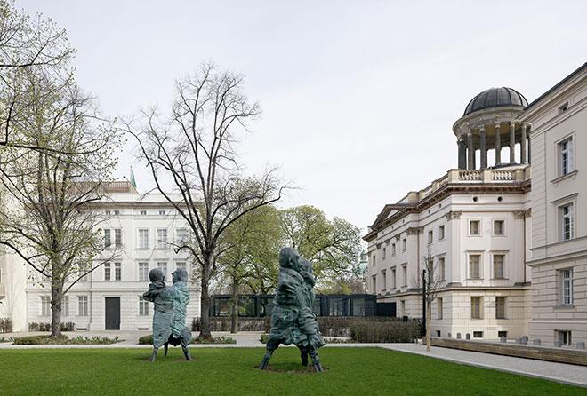 Museum Berggruen Sculpture Garden. Photo: Ullrich Schwarz