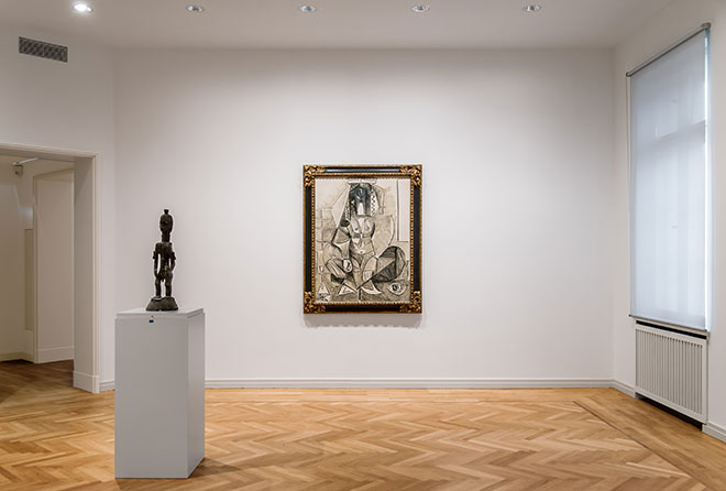 Museum Berggruen interior, Photo: HC Krass