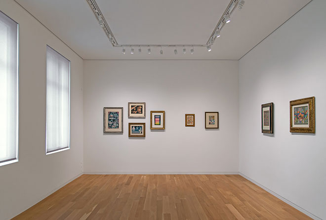Museum Berggruen interior, Photo: H.C. Krass