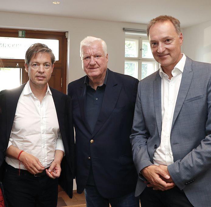 Nicolas Berggruen, Friedrich Christian Flick, Joachim Jäger