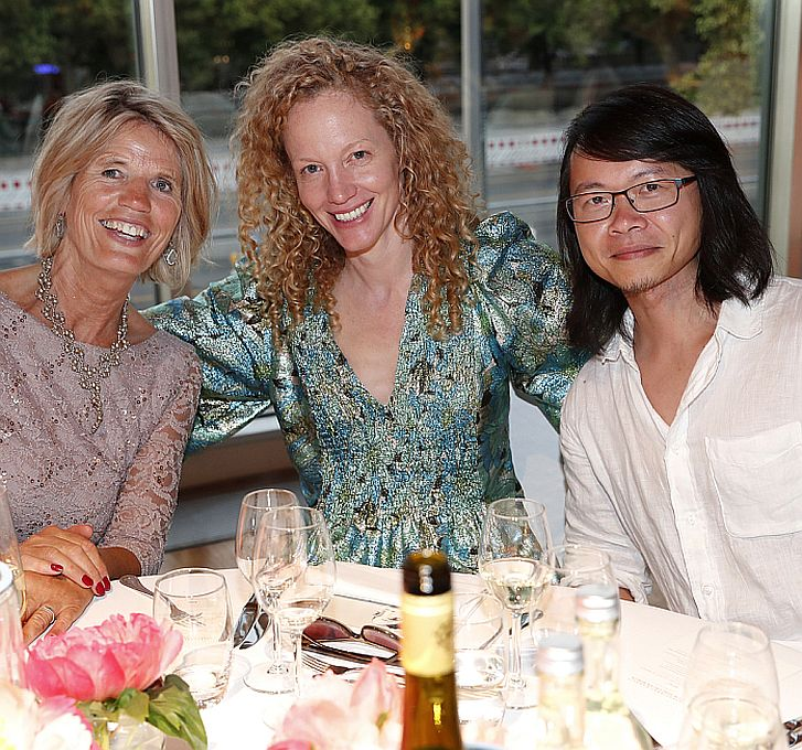 Beatrice Sloterdijk, Anna Rubesame, Prof. Yuk Hui