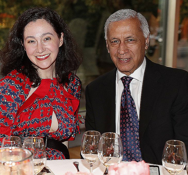 Blair Brooks, Shaukat Aziz