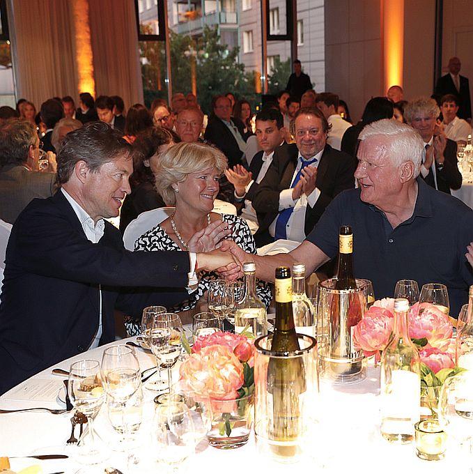 Nicolas Berggruen, States Minister Monika Grütters, Friedrich Christian Flick