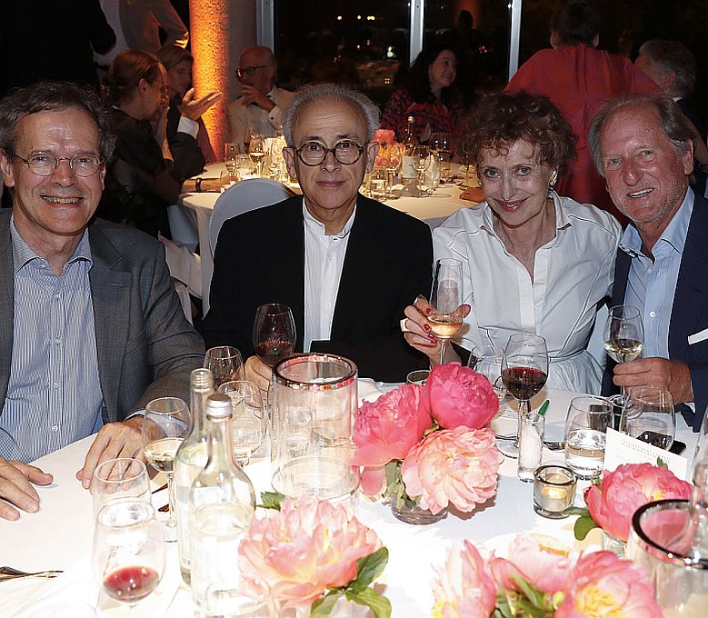 Marc Mézard, Antonio Damasio, Annie Cohen-Solal, Alessandro Corsini