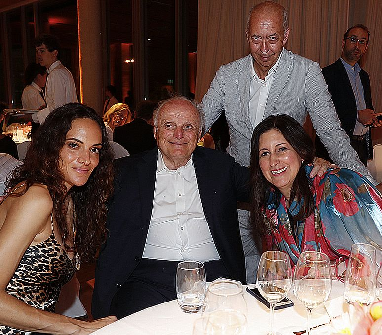 guest, David Nahmad, Benedikt & Lauren Taschen